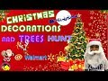 Walmart Christmas Trees and Christmas decorations || Christmas Store hunt || Shop with me