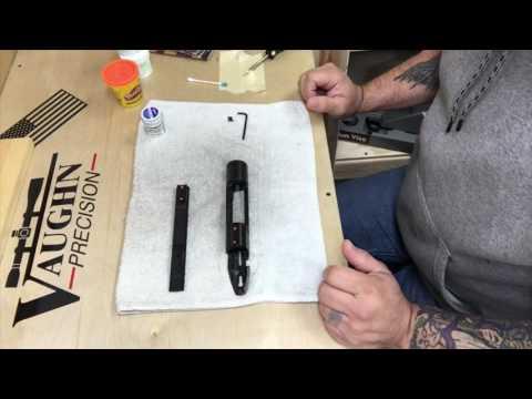 Savage Rifle Build, Bedding Scope Base Rail (pt 11)