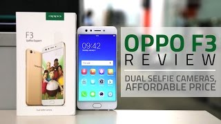 Oppo F3 Review Videos