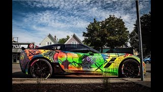 """"""" EPIC FAIL """" FIRST TIME WASHING MY HANDPAINTED CORVETTE!!"""
