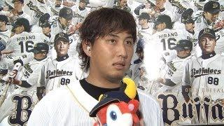 先発した鴨志田のインタビュー 2013.03.07 Bs-D