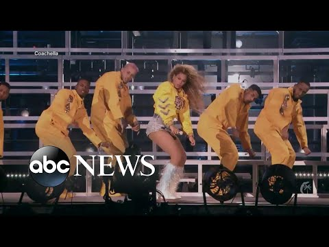 Beyonce is 1st woman of color to headline Coachella