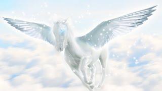 Пегас Лошадь с крыльями Уроки фотошопа