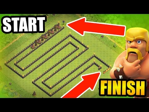 Thumbnail: Clash Of Clans - WORLDS LARGEST TROLL BASE! - UNDEFEATED SNAKE TROLL!