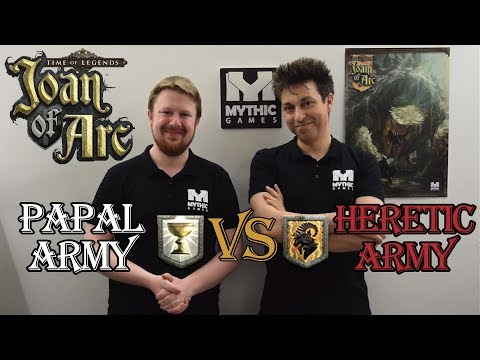 Holy Army Vs Red Knight Heretics Mass Battle in Time of Legends: Joan of Arc