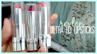 REVIEW ♡ Revlon Ultra HD Lipsticks Thumbnail