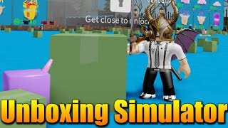 NEW SIMULATOR OPENING CRATES? 🤔🤣 Roblox Unboxing Simulator