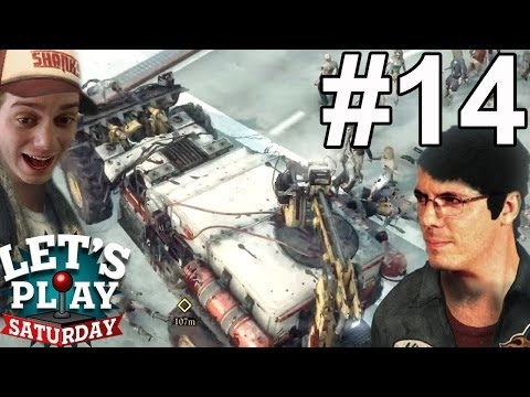 THEY'RE IN FOR A SHOCK (DeadRising3 Part 14)