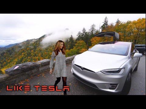 The Smokies In a Tesla!
