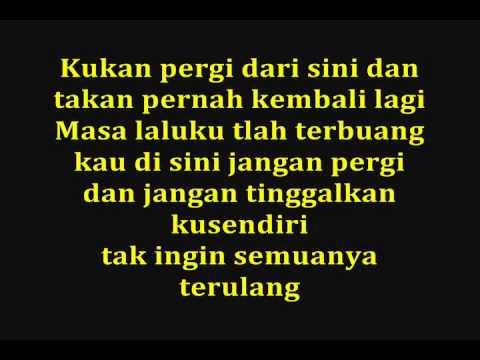 STAND HERE ALONE   Masa Lalu Dan Kini  With Lyrics