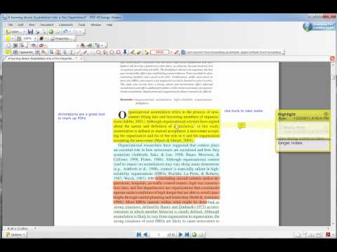 PDF XChange Viewer Annotations Demo