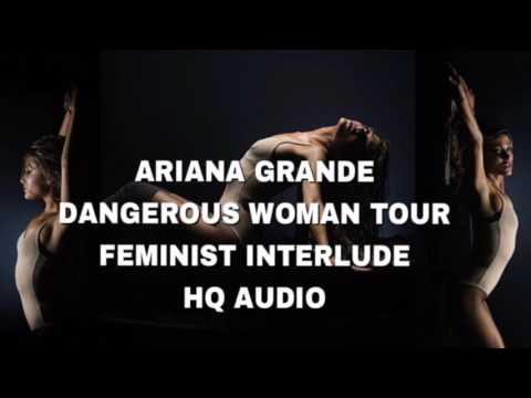 "ARIANA GRANDE ""FEMINIST"" INTERLUDE HQ AUDIO W/ VOCALS"