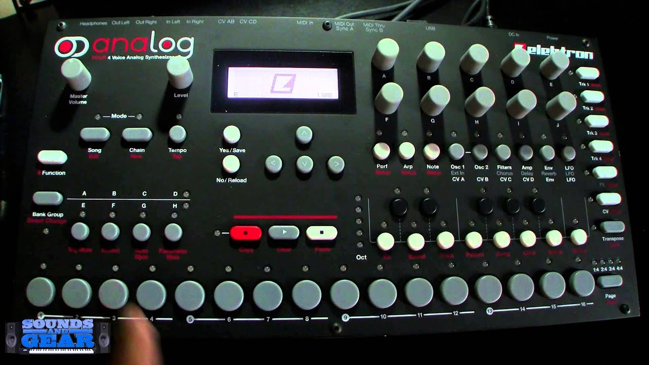 elektron analog four tutorial how to perform a factory reset youtube. Black Bedroom Furniture Sets. Home Design Ideas