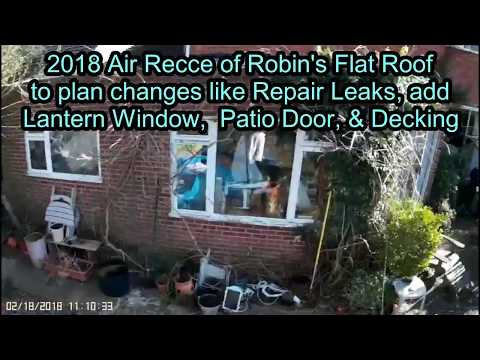 Aerial Recces in 2018 and 2001 of Robin's Roof