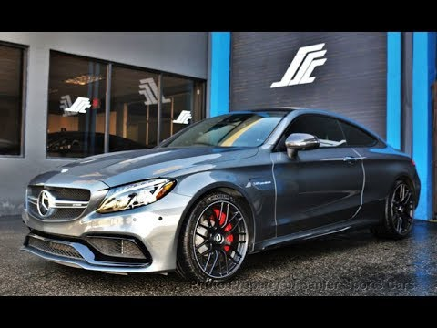 New 2019 Mercedes Benz C Class Amg C 63 S Coupe 1490 New Model