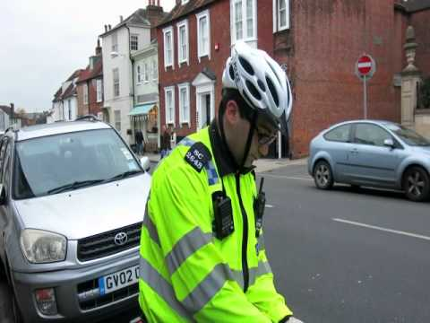 Stop n search in Chichester Policeman Owned