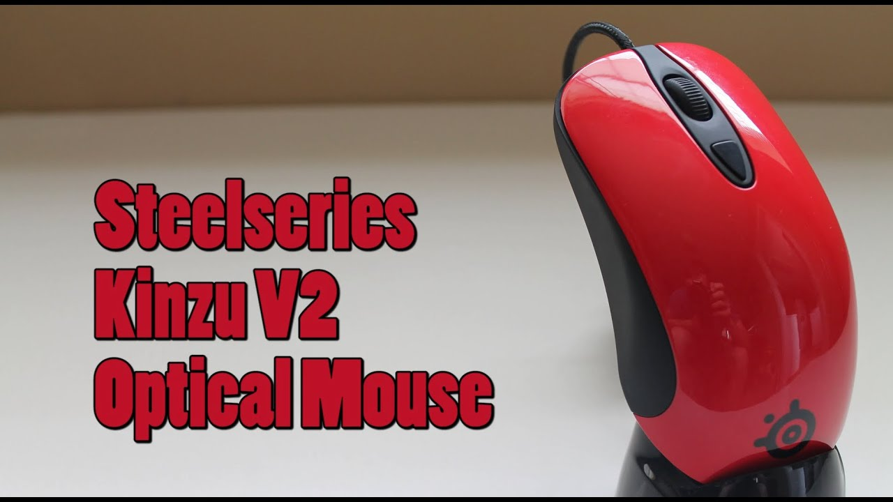 52075f18697 SteelSeries Kinzu V2 Optical Gaming Mouse - Review - YouTube