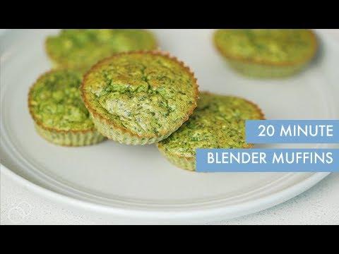 20 Minute Blender Muffins   Inspiralized Kids