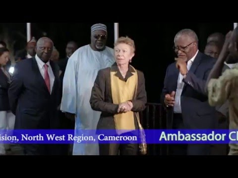 Ambassador Christine Robichon's visit to Ngyen-Mbo