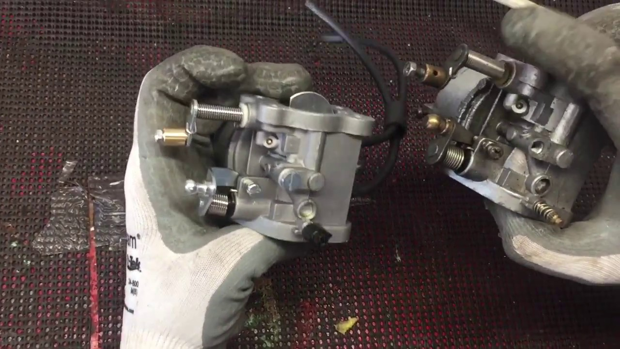 how to change a golf cart carburetor