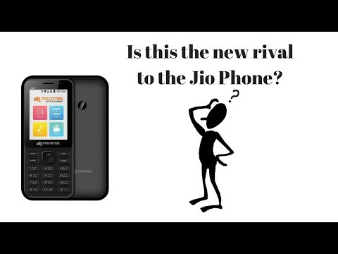 Is this the new JioPhone Rival? ||Micromax Bharat 1|| (in Tamil)