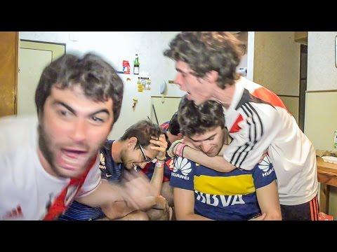 River 2 Boca 0 | Superclásico Verano 2017 | Reacciones de amigos
