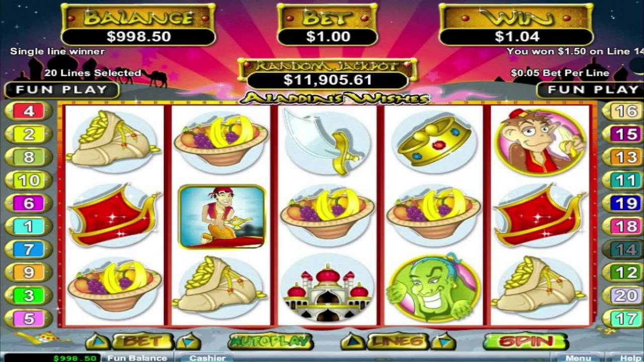 Arabian Wishes Slot Machine - Play for Free Online Today