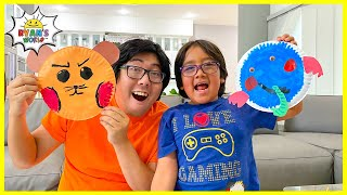 Spin the Wheel Drawing Animals Challenge!!!
