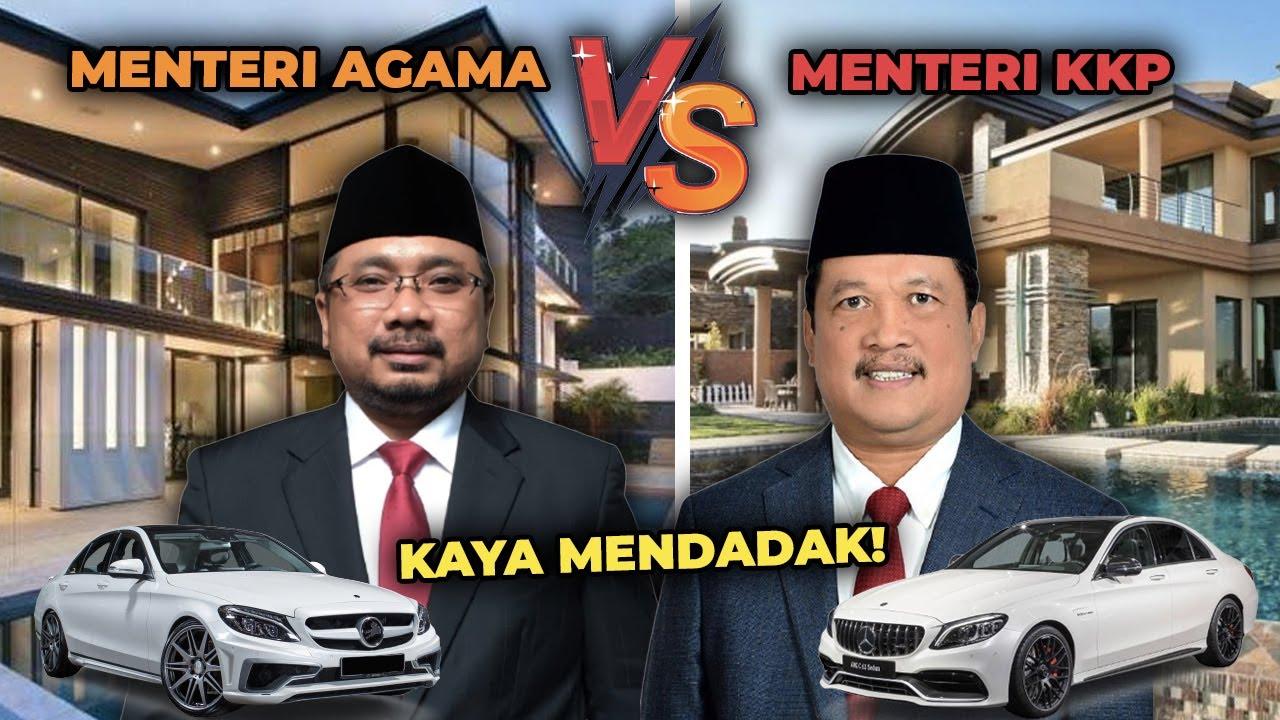 SEMAKIN KAYA! Perbandingan Mobil Mewah dan Kekayaan Yaqut Cholil Qoumas VS Sakti Wahyu Trenggono