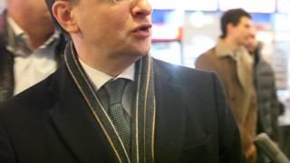 Мединский Владимир Ростиславович в Октябре на премьере фильма Чемпионы