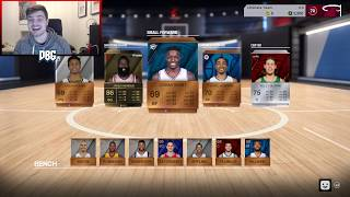 WE PULLED AN INSANE ELITE IN NBA LIVE 18 ULTIMATE TEAM!! | NBA LIVE 18 LUT PACK OPENING PS4