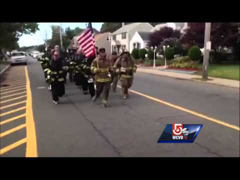 Salem firefighters run in memory of veteran