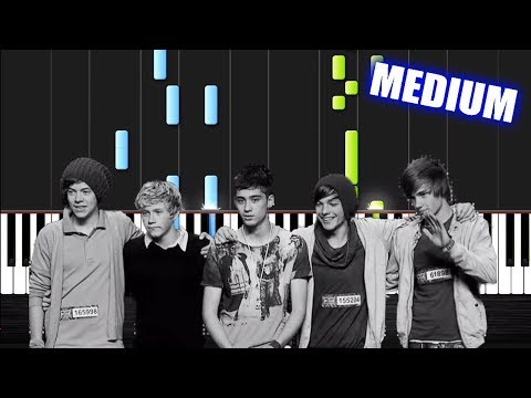 One Direction - History - Piano Cover/Tutorial by PlutaX