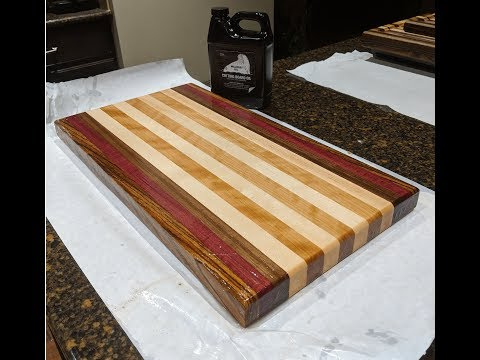 Trying out Walrus Oil Cutting Board Oil and Wood Wax
