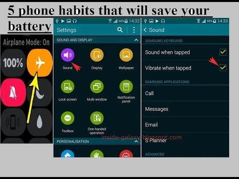 How to Save mobile Phone Battery latest Technology 2018