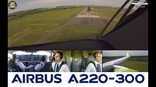 BRAND NEW CS300 of Air Baltic gliding into Paris CDG, piloted by Technical Pilot Erlend! [AirClips]