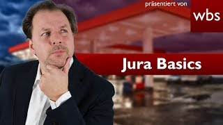 Jura Basics: Tanken, ohne zu bezahlen: Der Tankstellenfall | Rechtsanwalt Christian Solmecke