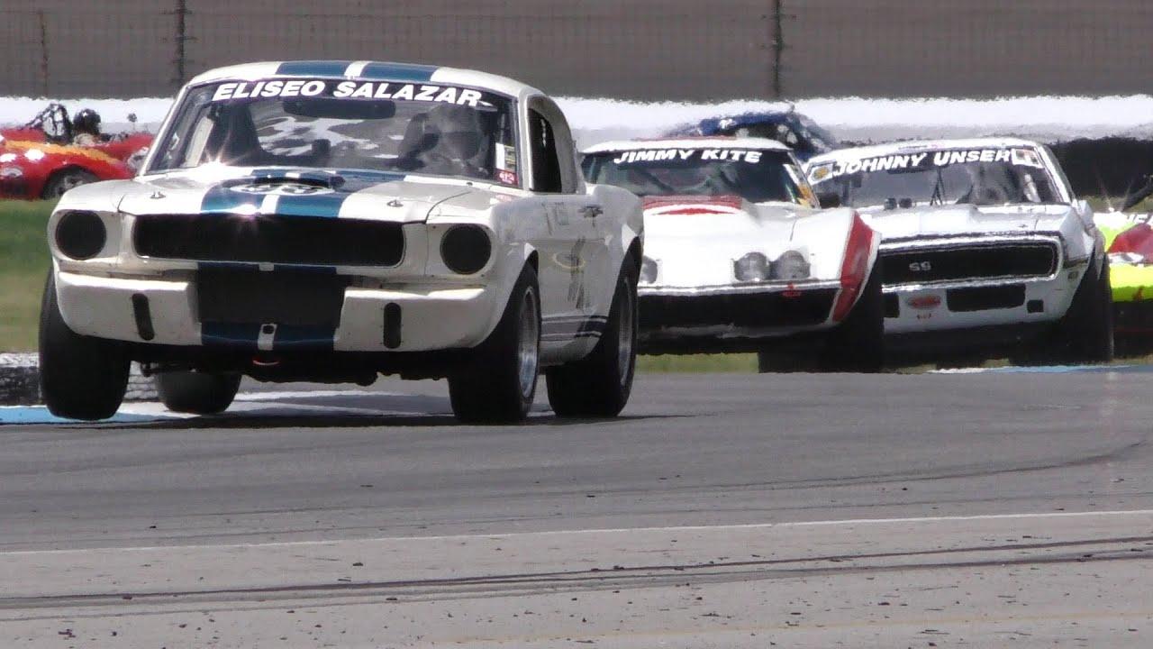 Brickyard Vintage Racing Invitational - June 16-19, 2016 - YouTube