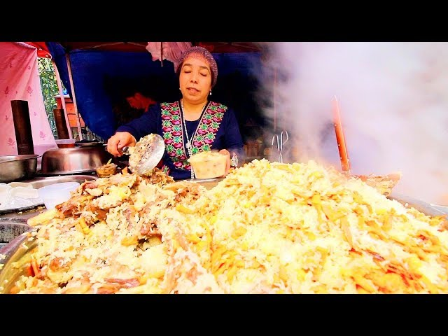Muslim Street Food in CHINA | Shanghais HALAL Street Food HEAVEN - BEST Islamic Chinese Street Food