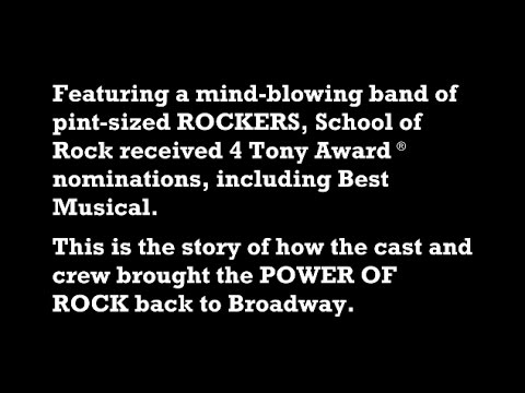 The SCHOOL OF ROCK Story | SCHOOL OF ROCK: The Musical