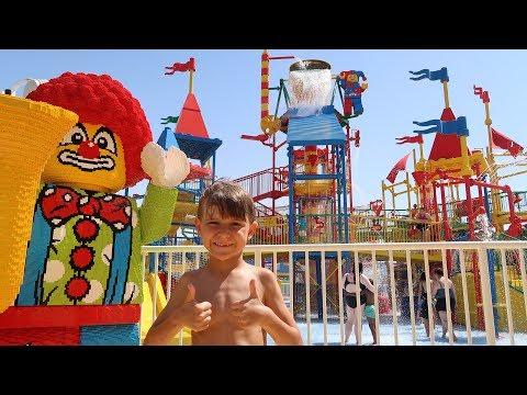 Legoland Water Park Slides Family Lego Fun