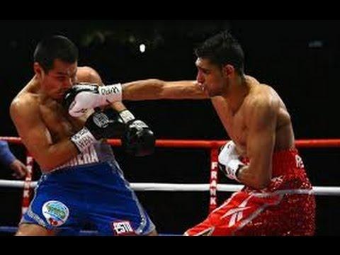 Amir Khan Knockouts - Amir Khan vs Marco Antonio Barrera
