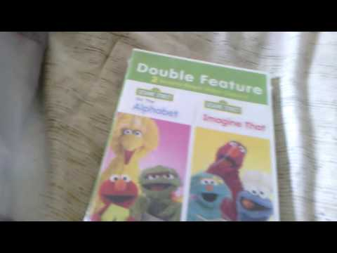 DVD unboxing double feature sesame street do the alphabet/ imagine that DVD review