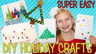 DIY Christmas Cards & Decorations for Kids with Alyssa