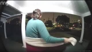 CA  DOORBELL CAM CATCHES WOMAN SCREAMING  HELP