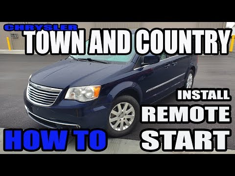 HOW TO INSTALL REMOTE START ON CHRYSLER TOWN & COUNTRY VAN