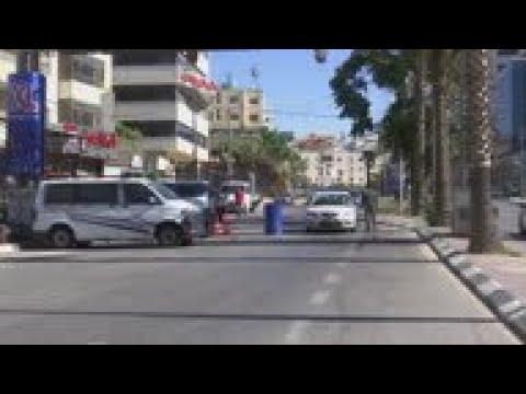 Lockdown extended in Palestinian territory