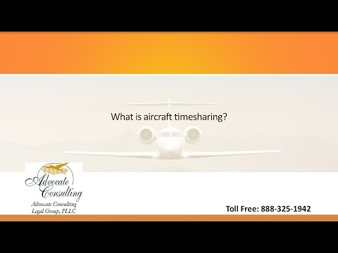 What is aircraft timesharing?