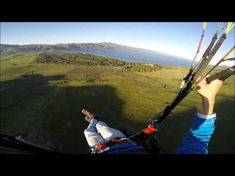 Flying at Sevan Lake - Paragliding Sport Federation of Armenia