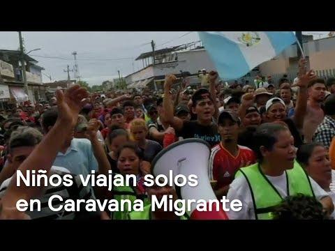 Caravana Migrante de honduras huye por falta de empleo y violencia - En Punto con Denise Maerker
